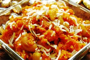 Carrot-pumpkin halwa recipe