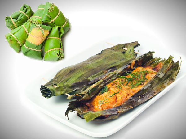Recipe Of Fish Rapped In Banana Leaf
