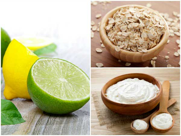 DIY Oats, Curd And Lime Pack To Treat Dark Neck