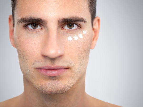 Steps to cover up spots with makeup for men