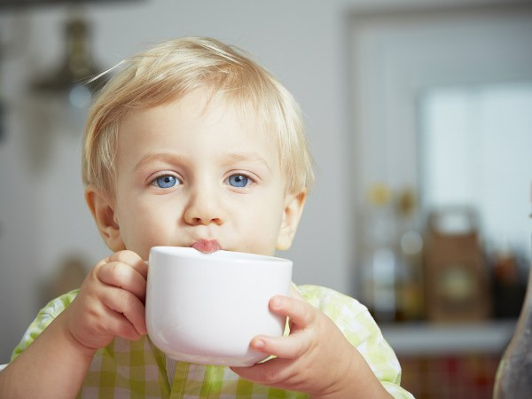 Is it okay if your toddler drinks tea?