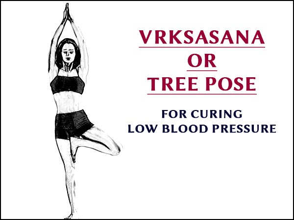 Vrksasana (Tree Pose) For Curing Low Blood Pressure