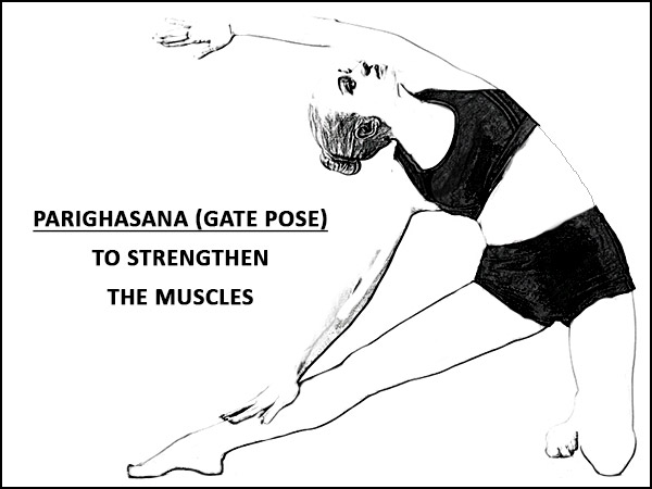 Parighasana (Gate Pose) To Strengthen The Muscles