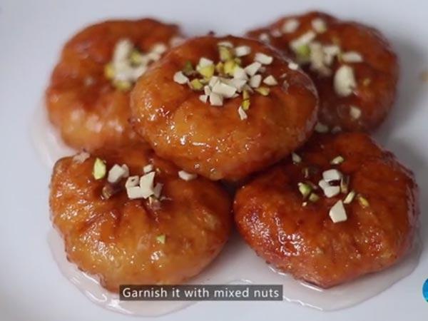 ಸಿಹಿ ರೆಸಿಪಿಗಳ ಸರದಾರ 'ಬಾದುಷಾ'- ವಿಡಿಯೋ ನೋಡಿ....