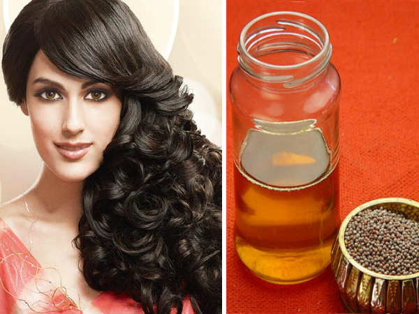 musturd oil for hair
