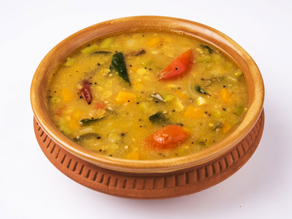 Potato and Onion sambar