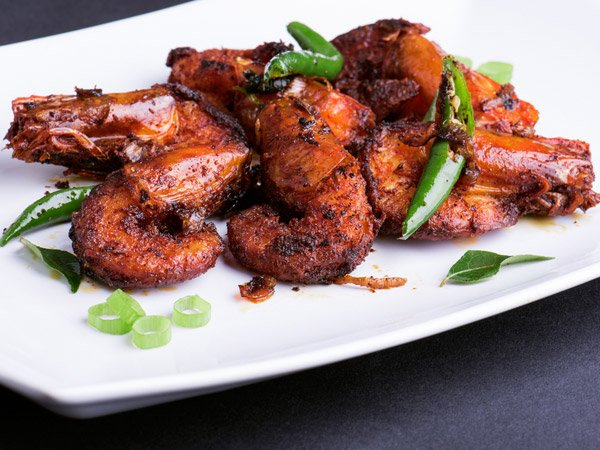 Non veg recipes in kannada non vegetarian dishes in kannada spicy prawn fry recipe forumfinder Image collections
