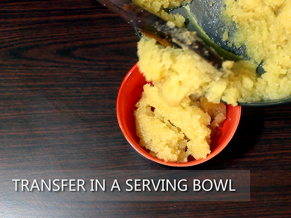 how to make kesari halwa