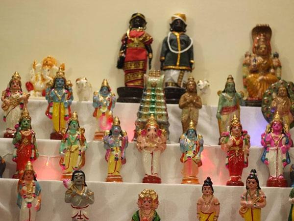 Traditional Golu Theme Dusshera