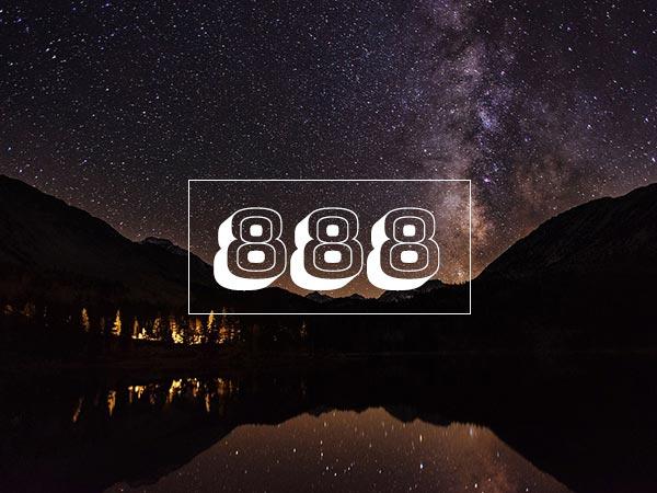 ಒಂದು ವೇಳೆ 888 ಕಂಡುಬಂದರೆ
