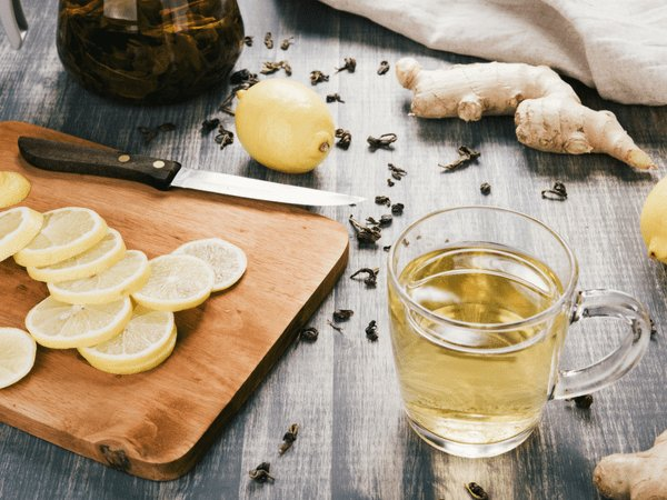 benefits of ginger juice with lemon in the night