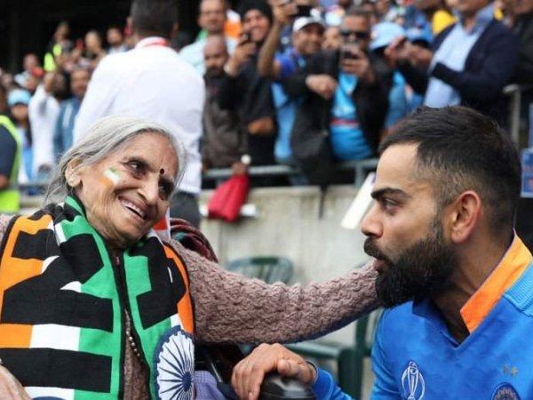 ವಿಶ್ವಕಪ್ 2019: 87 ವರ್ಷದ ಕ್ರಿಕೆಟ್ ಪ್ರೇಮಿ ಅಜ್ಜಿ ಈಗ ದಿನೇ ದಿನೇ ಜನಪ್ರಿಯ!