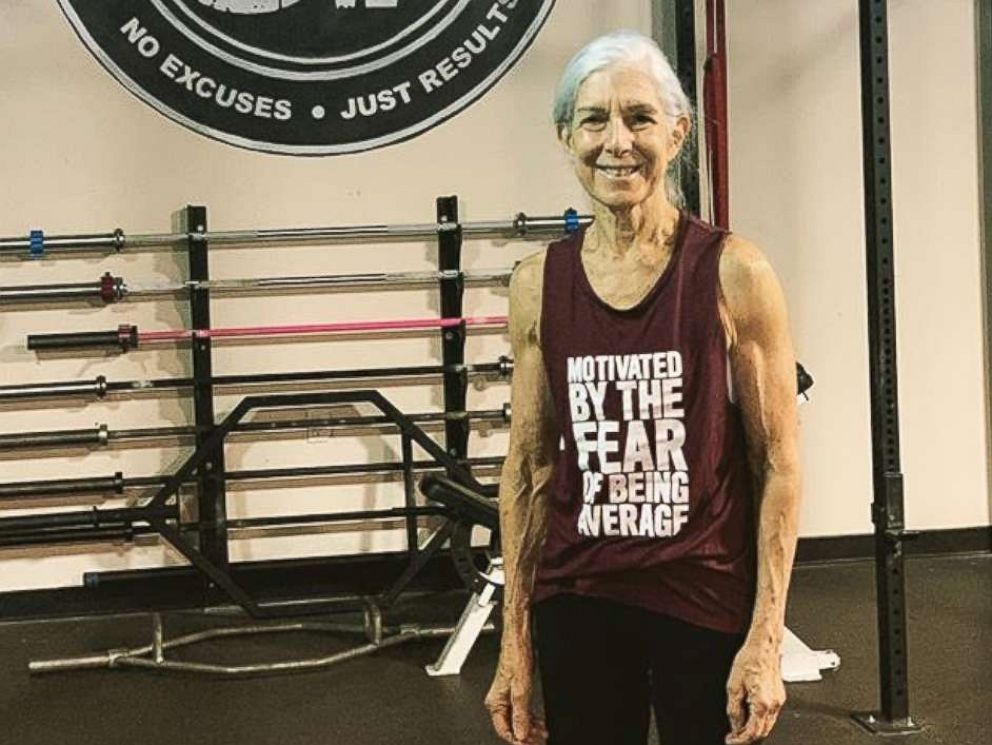 This 72-year old womans gym regime will put your workout to shame