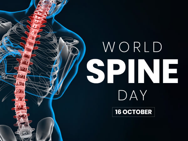World Spine Day 2019 Tips To Keep Your Spine Healthy