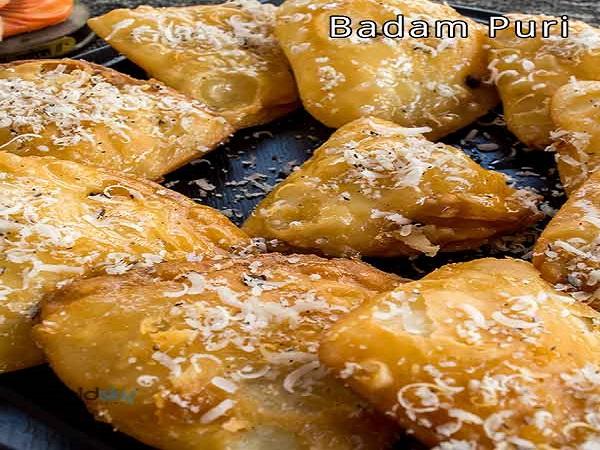 Navaratri  Recipe: ದಸರಾ ಹಬ್ಬಕ್ಕೆ ಬಾದಾಮ್ ಪುರಿ ರೆಸಿಪಿ