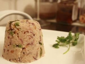 Rava Coconut Upma Recipe