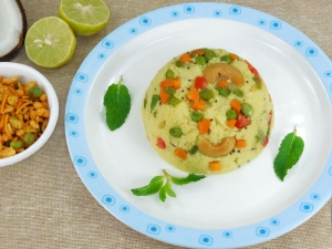 Homemade Masala Oats Breakfast