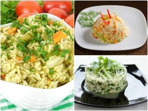 Variety Styles Rice Bath Morning Breakfast