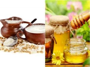 Diy Milk Honey Face Mask Remove Age Spots Wrinkles
