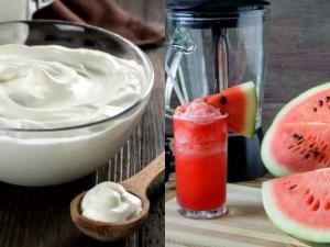 Diy Watermelon Juice Yoghurt Mask Get Soft Glowing Skin