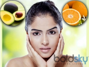 Diy Avocado And Orange Face Pack For Soft Skin