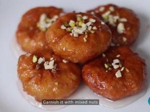 Special Badusha Sweet Recipe Navratri Video