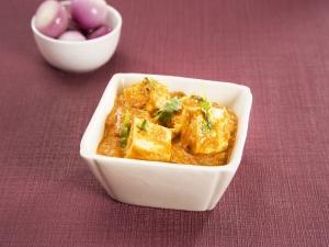 Paneer Butter Masala Diwali Special Recipe