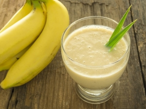 Drink Glass Banana Juice Every Day Stay Healthy