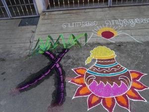 Kitchen Decoration Ideas Pongal