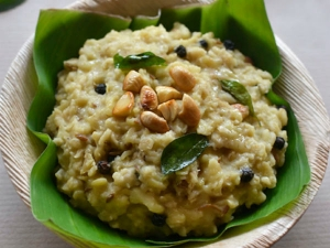 Sankranti Special Sweet Pongal Recipe