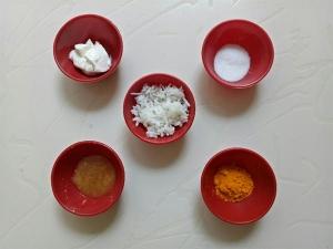 Cooked Rice Turmeric Anti Tan Body Mask