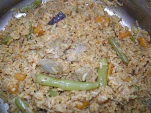 Soya Chunks Vegetable Pulao Recipe Aid