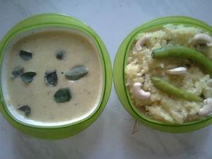 Kattambali Rice Recipe Majjige Huli Aid