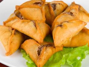 Moong Dal Samosa Recipe Aid
