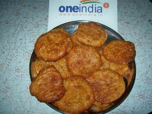 Kajjaya Recipe Fried Snacks Aid