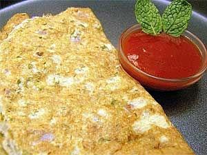 Tomato Omelet Recipe Aid