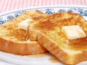 French Toast Without Eggs Aid