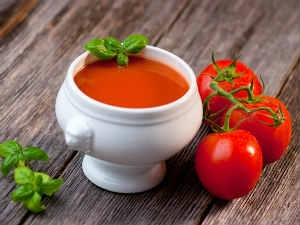 Health Benefits From Tomato Soup