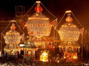 Three Chariot Utsav Udupi Makara Sankranti