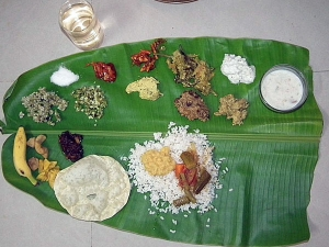 Special Recipes For Onam