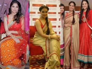 Lara Dutta Her Own Saree Collection