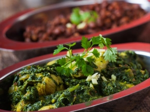 Palak Chicken Side Dish Recipe