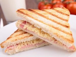 Stuffed Paneer Sandwich Breakfast Recipe