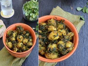 Delicious Methi Aloo Recipe