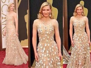Cate Blanchett Armani At Oscars