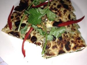 Coriander Paratha Breakfast