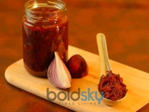 Tasty Onion Chutney Recipe