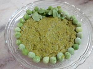 Green Peas Chutney Plain Dosa