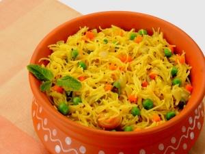 Tasty Semiya Upma Recipe Breakfast