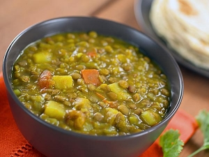 Spicy Green Gram Masala Recipe